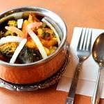 ロイヤルタンドール - 野菜カレー