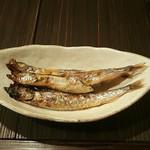 炭火焼 木石 - シシャモ
