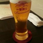 炭火焼 木石 - 生ビール