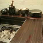 炭火焼 木石 - テーブルセット