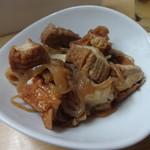こまちゃん - 牛肉と厚揚げとか炊いたん380円
