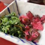 サガミ - 漬物(お蕎麦お好みランチ)