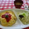 サンペトル - 料理写真:カレー風味オムライスセット 750円