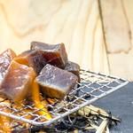 荻窪 牛タン工房 鎌倉ハム - 漬けマグロの炙り