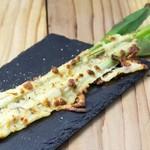 荻窪 牛タン工房 鎌倉ハム - 一本葱のチーズ焼き