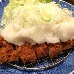54586641 - 和風ねぎおろしロースカツランチ(1380円)