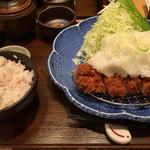 54586642 - 和風ねぎおろしロースカツランチ(1380円)