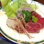 角山食彩屋 - 和牛たたきおろしポン酢  650円