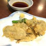 角山食彩屋 - ハモの天ぷら 580円