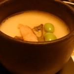漁師小屋「麦穂」 - 突き出し茶碗蒸し