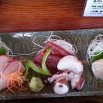 ほほほの北海道 - お刺身アップ