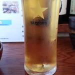 ほほほの北海道 - 可愛いランチビール200円