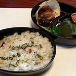 あかり家ギャラリーカフェ - 料理写真:ご飯が 美味しい (♡ >ω< ♡)