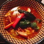 SOUP CURRY&HAMBURG 龍祈(TATSUKI) - 豚の角煮カレー1150円