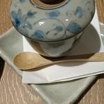 54593392 - トマトだしで作る小ぶりな茶碗蒸し
