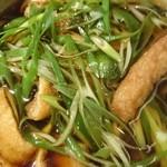 54593396 - 九条ねぎお揚げ蕎麦