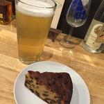 グッド スリープ ベーカー - ユーカリナーヴァイス(サワーエール)と黒ビールのフルーツケーキ