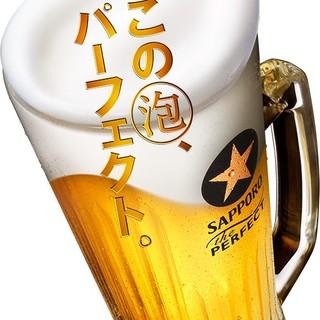 美味しい生ビール!