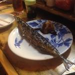 54598296 - 秋刀魚の塩焼き