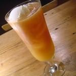カフェ マメヒコ - アイスオレンジティー