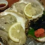 日本料理 空海 - 単品 岩牡蠣