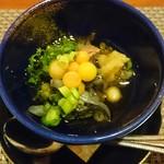 日本料理 空海 - すっぽんコース 酢の物