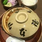 54600405 - 味噌煮込みうどん¥1,200+ごはん¥300(税抜き)