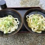 山 - 生醤油(冷)&ひやかけ