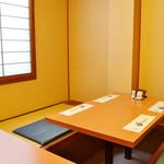 食楽魚一 - プライベート、ご宴会に便利な個室。