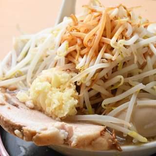 野菜・麺大盛無料!