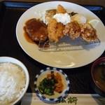 レストラン松新 - 松新サンキューセット@999