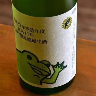 豊富に取り揃えた日本酒はその数なんと50種以上!