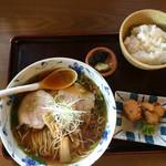 味の蔵 壽楽 - ラーメン定食780円
