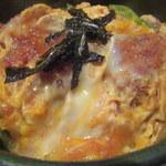 めん処譽紫 - カツ丼アップ