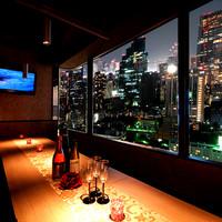 魅惑の摩天楼個室