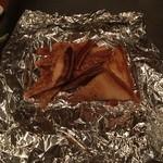 鉄板屋 欣 - 塊肉のトースト
