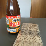 竹田製粉麺工場 - 焼肉のタレ素麺セットに\(^o^)/4人分用意しました♪♪