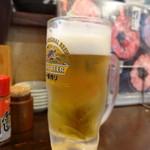 のっけ家 - 生ビール