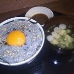 ごはん処 藤井堂 - 限定5食 生しらす丼(お汁付き)<税込>800円(2016.08.09)