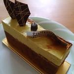cafe&cake 風花 - 料理写真:ピスタチオのケーキ