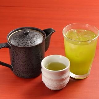 静岡割り・緑茶