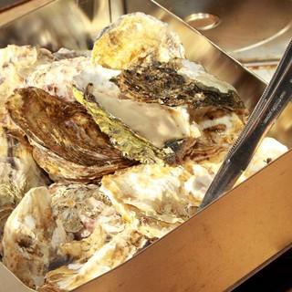 【三陸名物】牡蠣のカンカラ焼き!