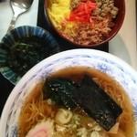 花のれん - 三食丼&ラーメンセット