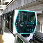 54614841 - 大宮駅から ニューシャトル(内宿 行きに乗って)