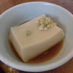 54615609 - 2016年7月:そば/胡麻豆腐 Aセット(\1240)の胡麻豆腐