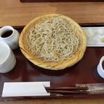 54615622 - 2016年7月:そば/胡麻豆腐 Aセット(\1240)