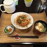 まんげつや - 桜海老のかき揚げ丼