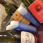 モンドール - 《本日のグラスの赤ワイン》国にこだわらず、各国いろいろな種類で、不定期に変わります(^_^)