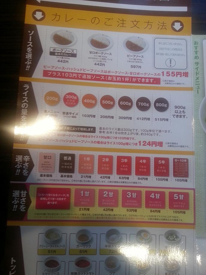 CoCo壱番屋 小牧中央店