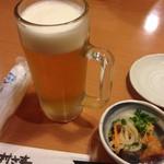 Murasaki - 生中、お通し 302円